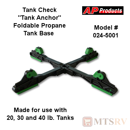 Tank Check 'Tank Anchor' Propane Tank Foot Stand