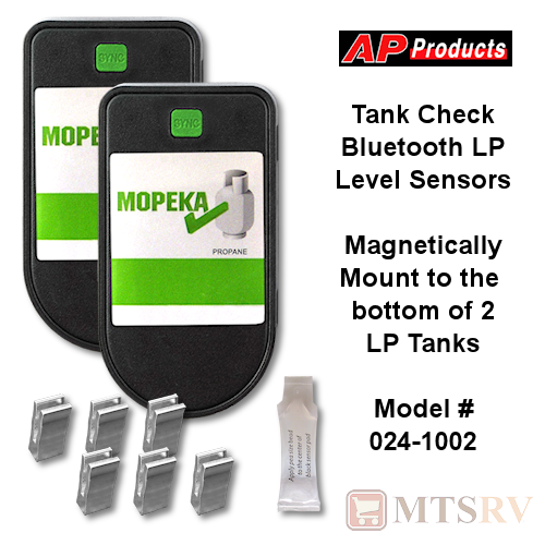 Tank Check Dual LP Tank Sensors with Spacers