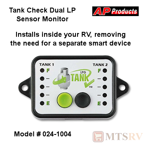Tank Check Monitor for Dual LP Tank Sensors