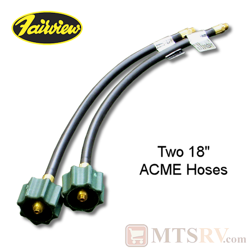 "Fairview Fittings 18"" ACME LP Hose - 2-PACK"