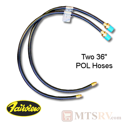 "Fairview Fittings 36"" POL LP Hose - 2-PACK"