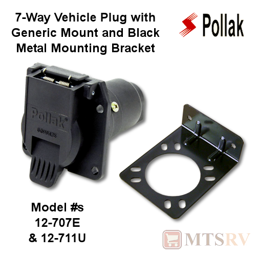 Pollak 7-way Vehicle Plug For Gm  Ford Oem