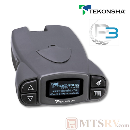 Tekonsha P3 Proportional Electric Trailer Brake Controller - For 1 to 4 Axle Trailers - Model 90195