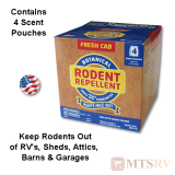 Fresh Cab Botanical Rodent/Mouse Repellent - 10 oz Box - 4-PACK
