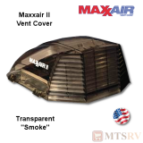"Maxxair II Large Vent Cover -  Smoke / Lexan - made for covering most 14x14"" Vents"