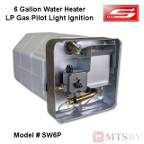 Suburban 6 Gallon Water Heater - Model SW6P / 5054A - LP Gas Pilot Light Ignition